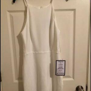 White brand new dress